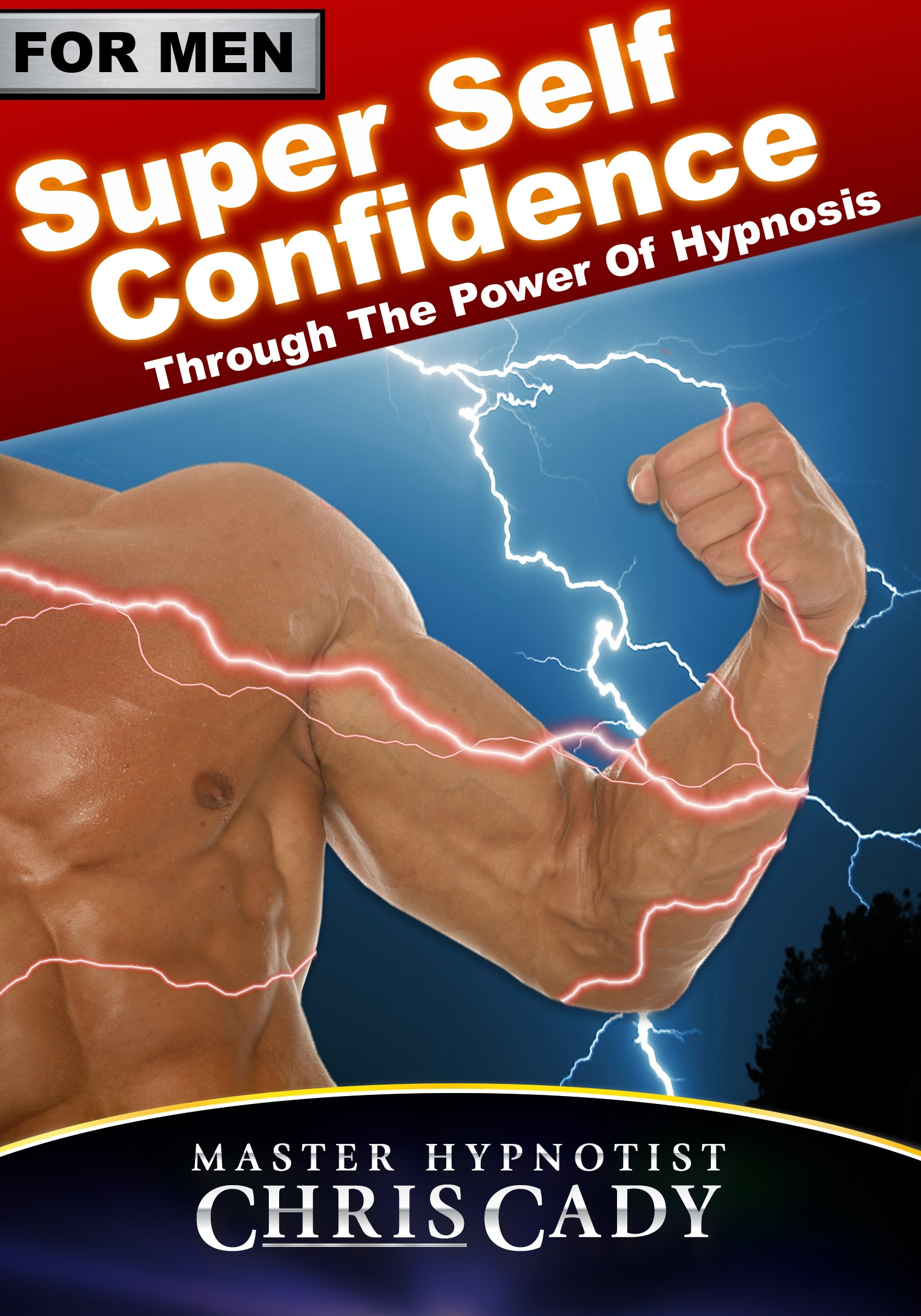 self confidence for men with hypnosis with hypnosis cd by hypnotist chris cady