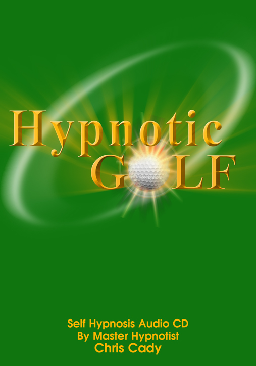hypnosis for golf mental game sports cd cover
