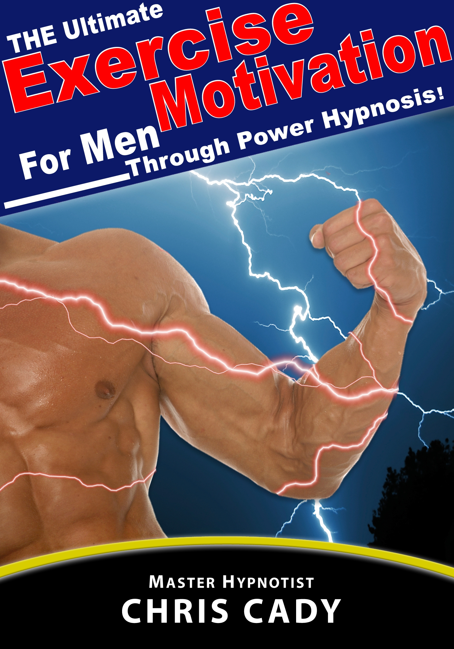 hypnosis exercise motivation cd for men