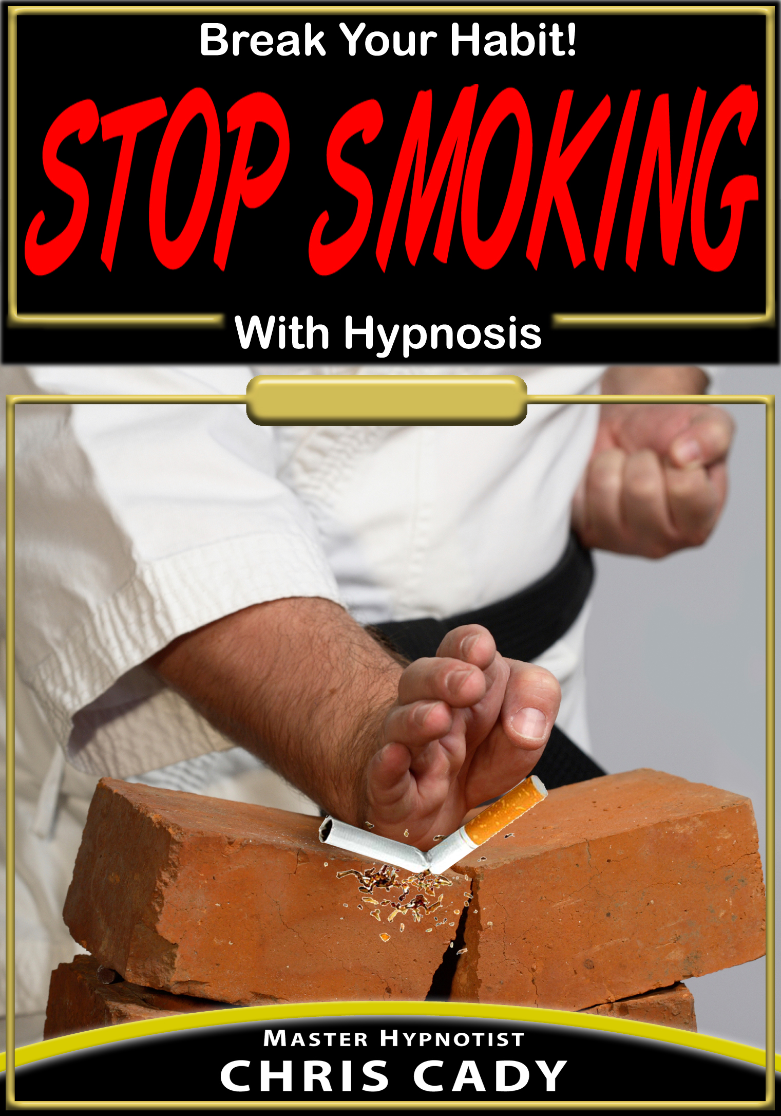 stop smoking with  hypnosis hypnotherapy CD